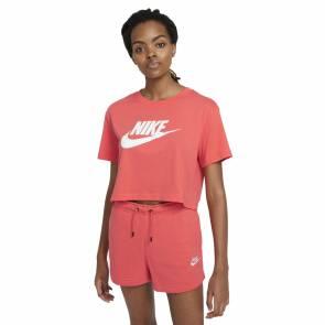 T-shirt Nike Sportswear Essential Rose Femme