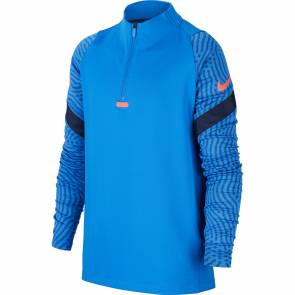 Training Top Nike Dri-fit Strike Bleu Enfant