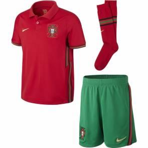 Ensemble Nike Portugal Domicile Rouge / Vert Enfant