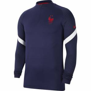 Training Top Nike France Strike Bleu