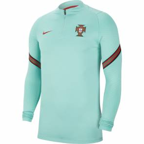 Training Top Nike Portugal Strike Bleu Vert