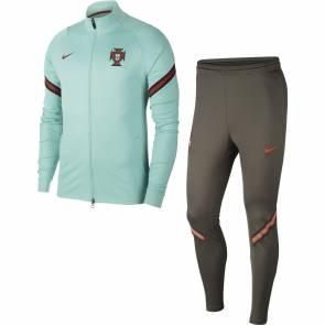 Survêtement Nike Portugal Strike Bleu Vert