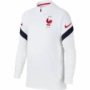 Training Top Nike France Strike Blanc Enfant