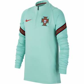 Training Top Nike Portugal Strike Bleu Vert Enfant