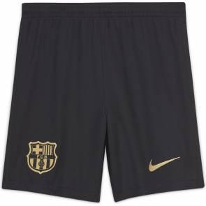 Short Nike Barcelone Exterieur 2020-21 Noir Enfant