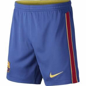 Short Nike Barcelone Domicile 2020-21 Bleu Enfant