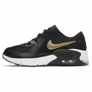 Nike Air Max Excee Noir / Or Enfant