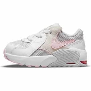 Nike Air Max Excee Blanc / Rose Bebe