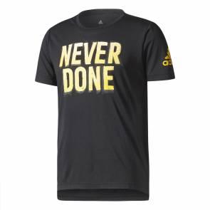 T-shirt Adidas Freelift Nvr Dn Noir