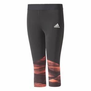 Collants Adidas Training 3/4 Black / Easy Coral