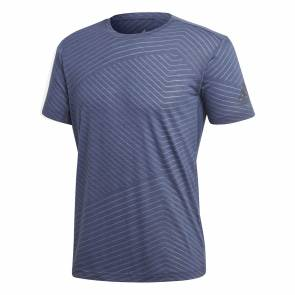 T-shirt Adidas Freelift Aeroknit Bleu