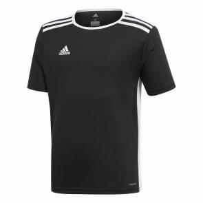 T-shirt Adidas Entrada 18 Noir Enfant