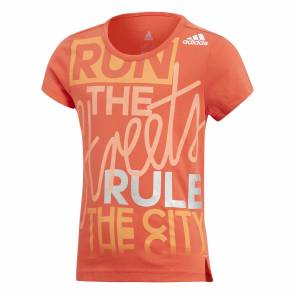 T-shirt Adidas Lg Graphic Orange