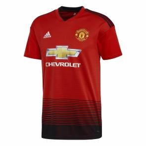 Maillot Adidas Manchester United Domicile 2018-19 Rouge