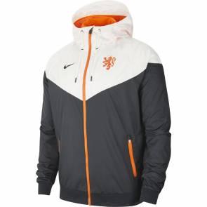 Veste Nike Pays-bas Windrunner Noir / Blanc