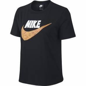 T-shirt Nike Sportswear Noir Femme