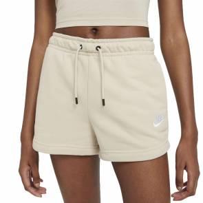Short Nike Sportswear Essential Beige Femme