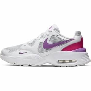 Nike Air Max Fusion Blanc / Violet Fille