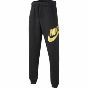 Pantalon Nike Sportswear Club Fleece Noir / Or Enfant