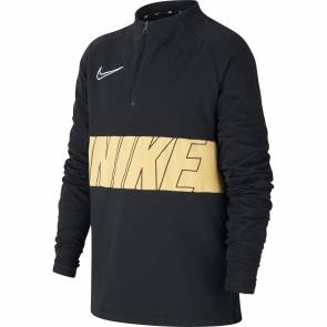 Training Top Nike Academy Noir / Or Enfant