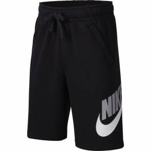 Short Nike Sportswear Club Fleece Noir Enfant