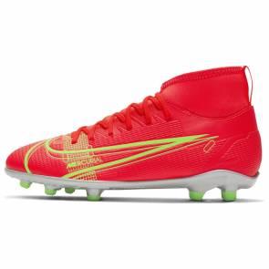 Nike Superfly 8 Club Fg/mg Rouge / Jaune Enfant