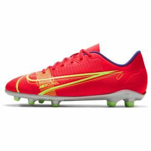 Nike Vapor 14 Fg/mg Rouge / Jaune Enfant