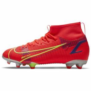 Nike Superfly 8 Academy Fg/mg Rouge / Jaune Enfant