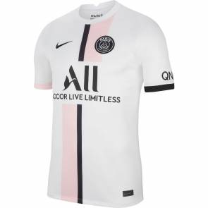 Maillot Nike Psg Exterieur 2021-22 Blanc