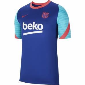 Maillot Nike Barcelone Training 2020-21 Bleu