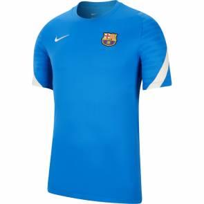 Maillot Nike Barcelone Training 2021-22 Bleu