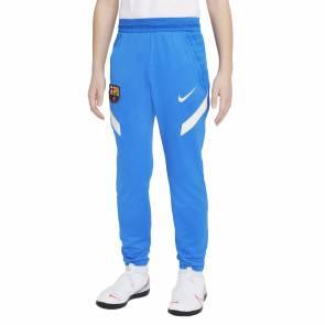 Pantalon Nike Barcelone Training 2021-22 Bleu Enfant