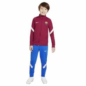 Survêtement Nike Barcelone 2021-22 Rouge Noble / Bleu Enfant