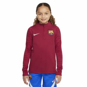 Training Top Nike Barcelone 2021-22 Rouge Noble Enfant