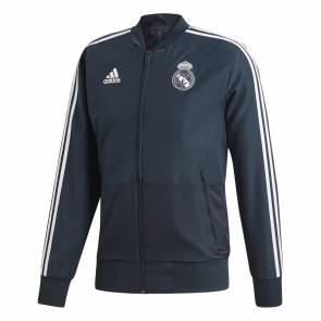 Veste Adidas Real Madrid Presentation 2018-19 Bleu / Blanc