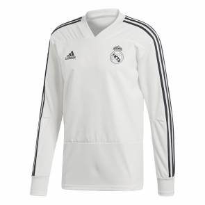 Training Top Adidas Real Madrid 2018-19 Blanc / Noir