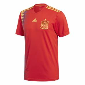 Maillot Adidas Espagne Domicile Rouge