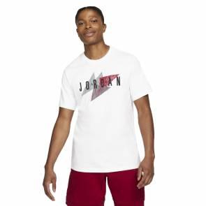 T-shirt Nike Jordan Jumpman Air Wordmark Blanc