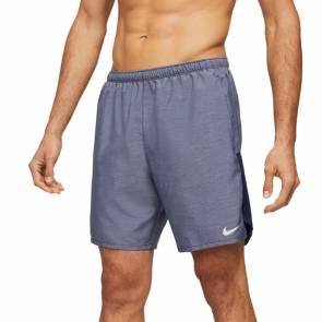 Short Nike Challenger Bleu