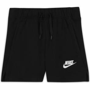 Short Nike Sportswear Club Noir Fille