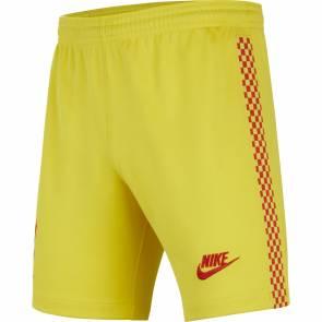 Short Nike Liverpool Third 2021-22 Jaune Enfant