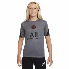 Maillot Nike Psg Strike 2021-22 Gris Enfant
