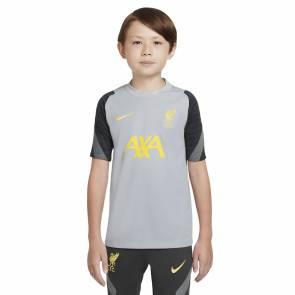 Maillot Nike Liverpool Strike 2021-22 Gris Enfant