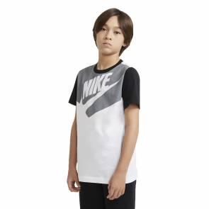 T-shirt Nike Sportswear Blanc / Noir