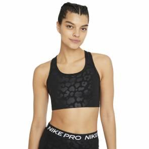 Brassière Nike Pro Dri-fit Swoosh Noir Femme