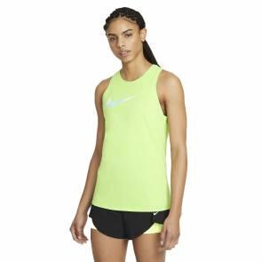 Débardeur Nike Dri-fit Vert Femme