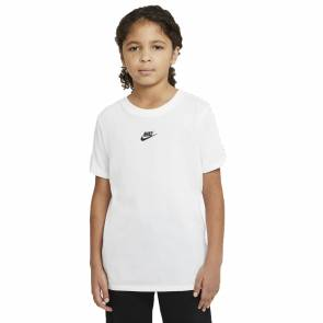 T-shirt Nike Sportswear Repeat Blanc Enfant