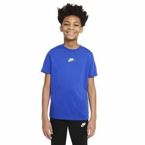 T-shirt Nike Sportswear Repeat Bleu Enfant
