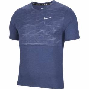 T-shirt Nike Dri-fit Run Division Miler Bleu