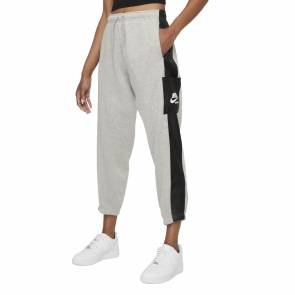 Pantalon Nike Sportswear Heritage Gris Femme
